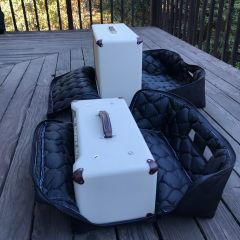 Photo of Regular Clamshell Gig Bag Open