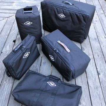 Photo of a Variety of Clamshell Gig Bags
