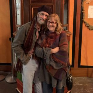 Photo of Michael and Susan in Port Townsend, 2019