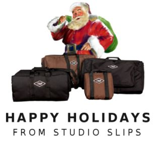 Santa says Happy Holidays from Studio Slips!