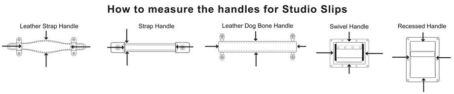 Graphic Illustration of How to Measure Handle